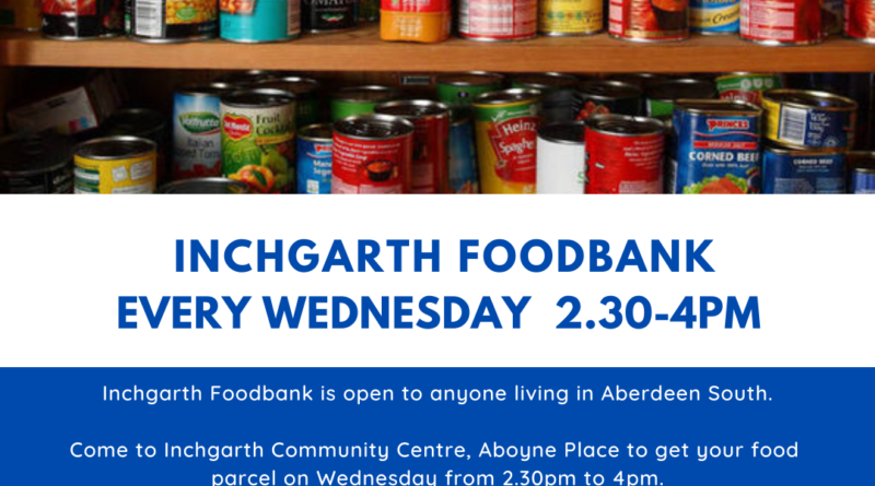 Updates from Inchgarth Community Centre